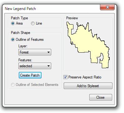 [O-Image] New Legend Patch Shape dialog