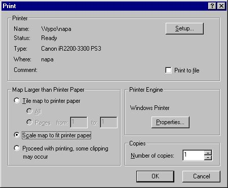 [O-Image] ArcMap 8.x Scale map to fit printer