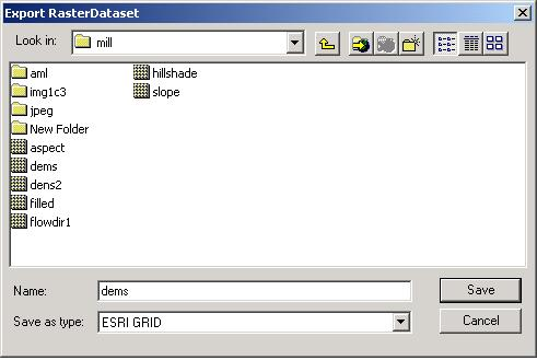 [O-Image] Export raster dialog