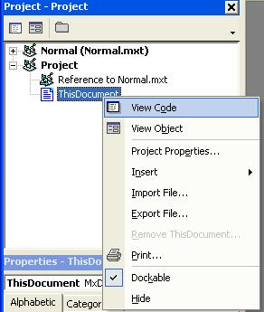 [O-Image] Visual Basic Project  Explorer