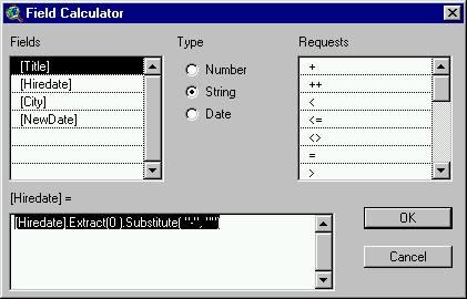 [O-Image]isodatetime field calculator