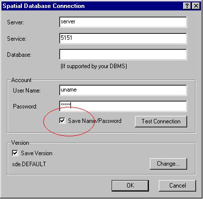 [O-Image] Spatial Database Connection Dialog
