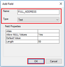 An image of the Add Field dialog box.