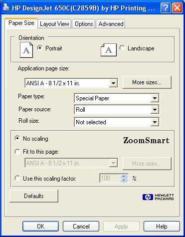 [O-Image] HP 650c HP-GL2/HP-RTL printer driver