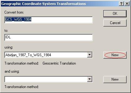 [O-Image] Custom geographic transformation