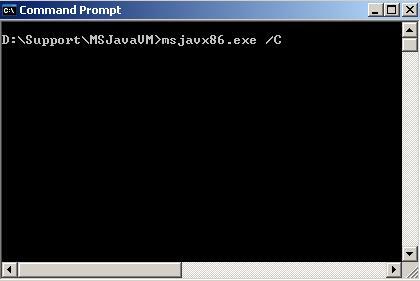 [O-Image] Microsoft JVM Update