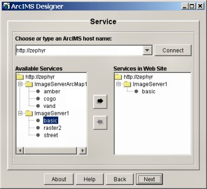[O-Image] Select a service