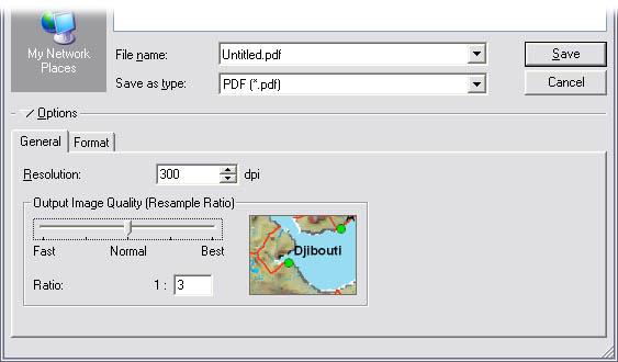 [O-Image] ArcMap export dialog gen