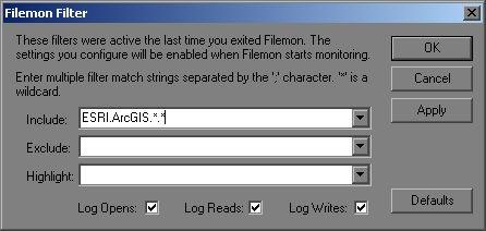 [O-Image] The filemon filter dialog