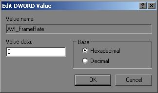 [O - Image] AVI Framerate is 0