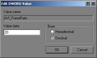 [O - image] Aviframerate change to decimal