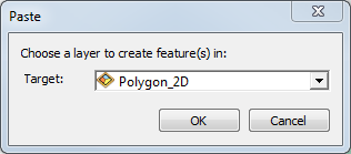 An image of the Paste dialog box.