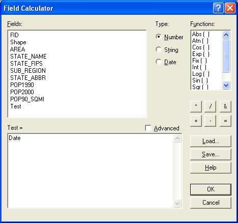 [O-Image] Field Calculator