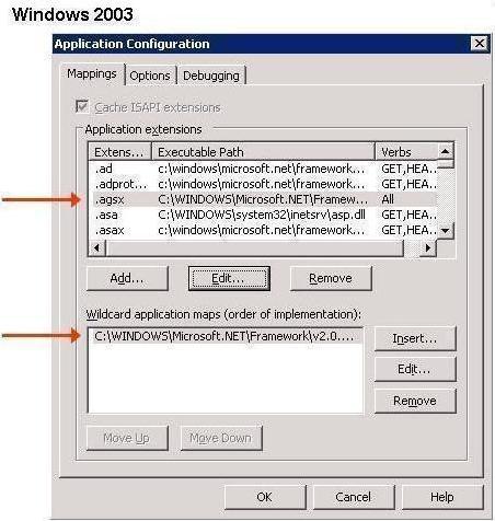 [O-Image] Windows 2003Server Application Configuration
