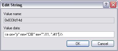 [O-Image] Edit Registry String