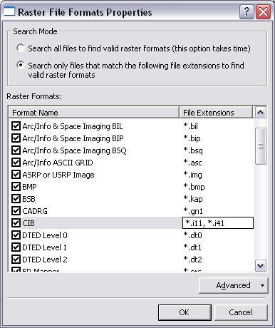 [O-Image] Modified Raster File Formats Properties