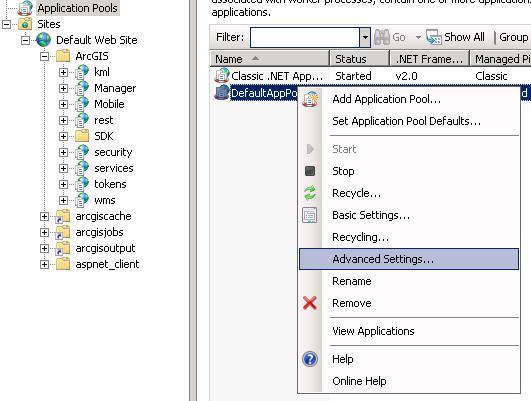 [O-Image] Application_Pool_Settings