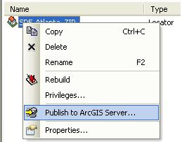 [O-Image] Publish address locators to ArcGIS Server