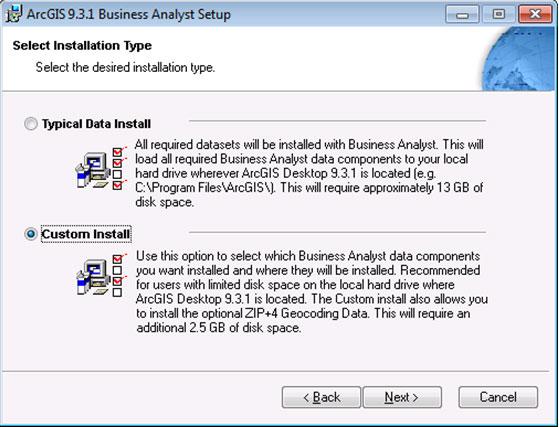 [O-Image] select installation type