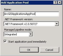 [O-Image] Add Application Pool Dialog