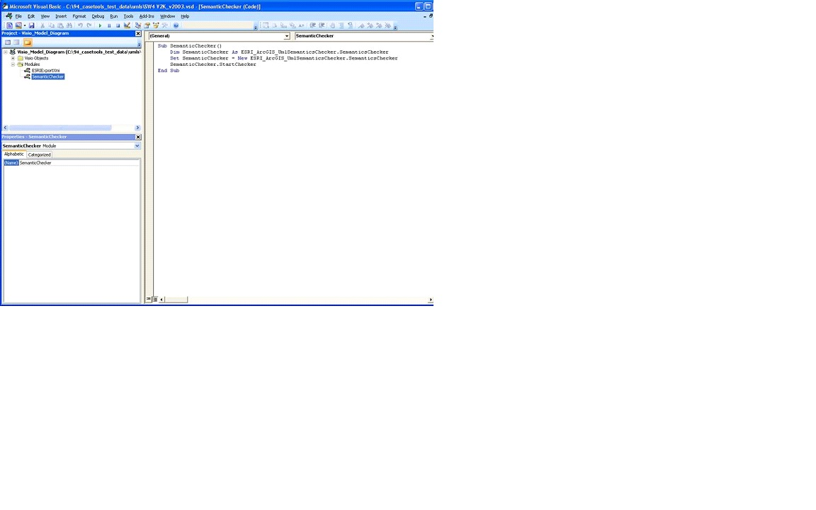 Problem: UML Models created with a Visio 2003 template