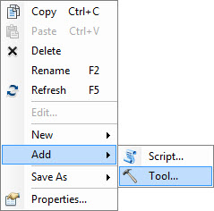 [O-Image] Add A New Script Tool