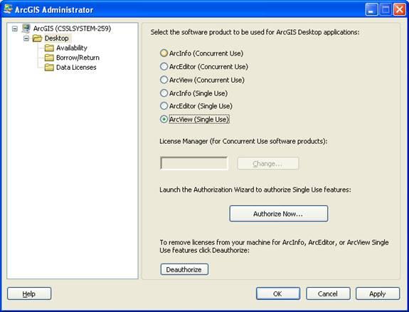 [O-Image] ArcGIS Admin - Authorize Now