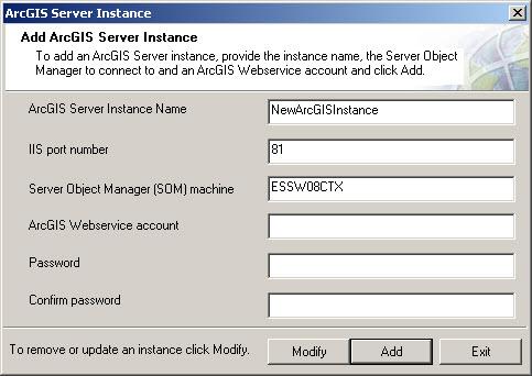 [O-Image] ArcGIS Server Instance