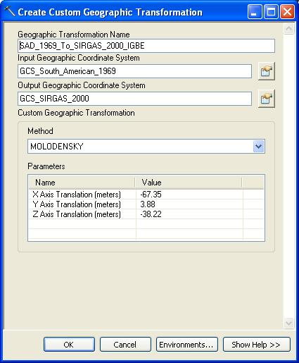 [O-Image] Create Custom Geo Transformation 2