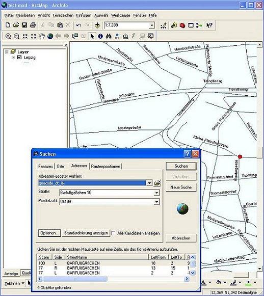[O-Image] Address Locator in ArcGIS