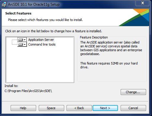 [O-Image] ArcSDE Install