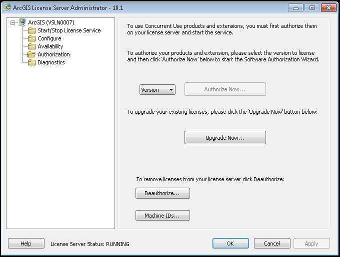 [O-Image] ArcGIS License Server Administrator