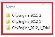 [O-Image] CityEngine folder naming convention