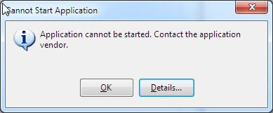[O-Image] Error Message