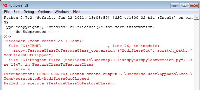 [O-Image] Error 000210 in Python Script