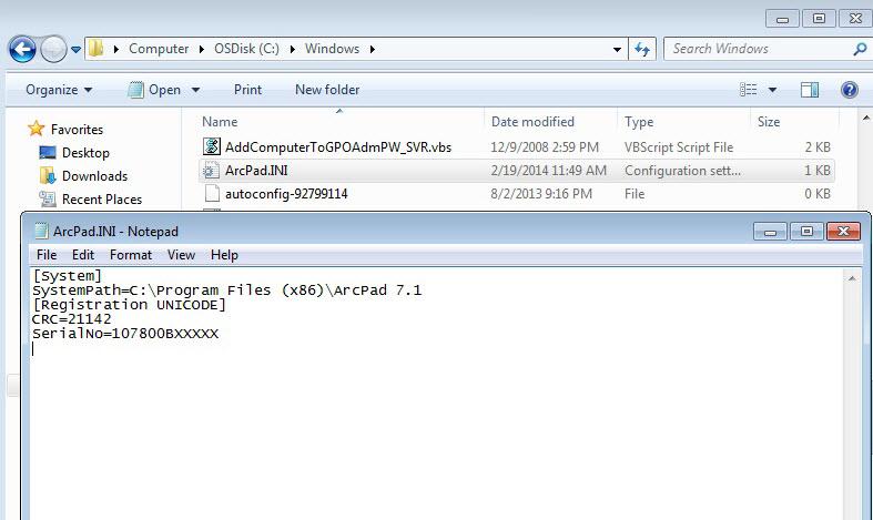 [O-Image] ArcPad 7.0
