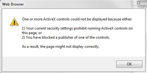 [O-Image] ActiveX controls web browser error