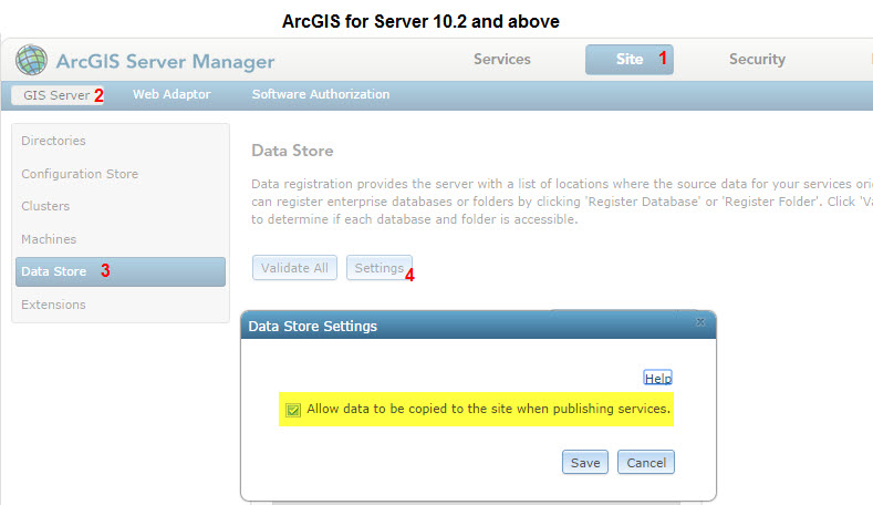 [O-Image] ArcGIS for Server 10.2 and above