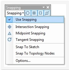 Problem: Snapping does not function while editing data in ArcMap