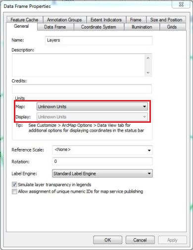Problem: The Measure tool is disabled in ArcMap