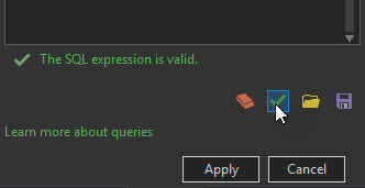 The SQL expression is valid