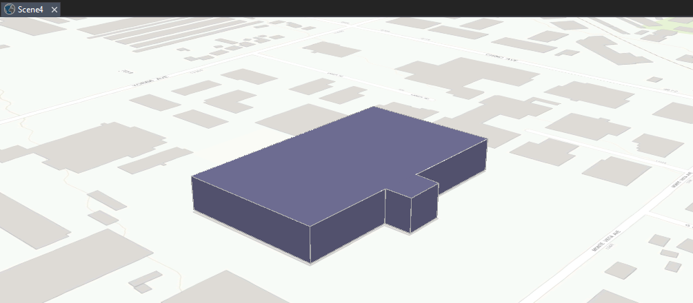 3D Building in ArcGIS Pro.