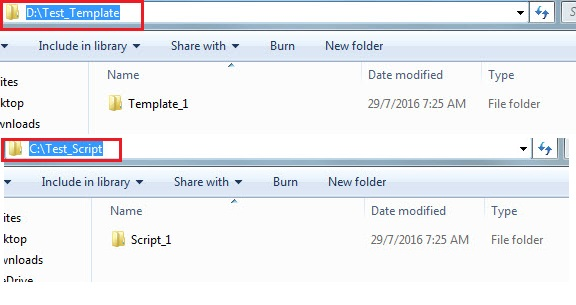 Image of seperate root folders