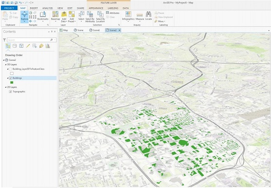 How To: Share extruded features from ArcGIS Pro to ArcGIS Online