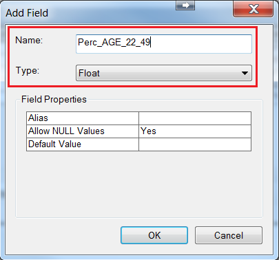 An image of the Add Field dialog.