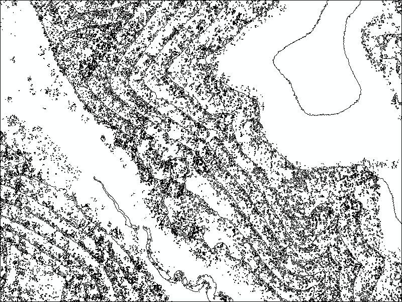 How To: Create contour lines from Lidar data