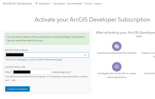How To: Activate the new ArcGIS Developer Subscription