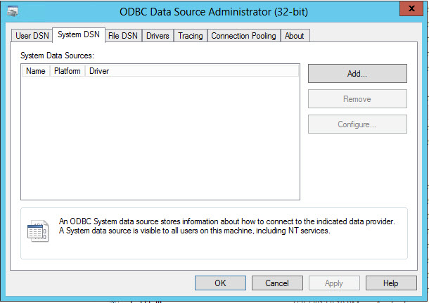 How To: Configure an ODBC driver to connect to a SAP HANA