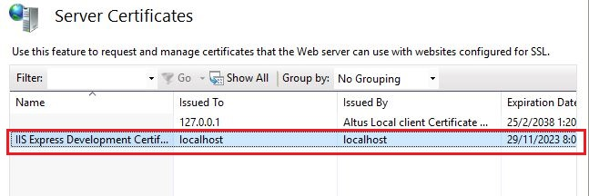 The image of selected certificate.