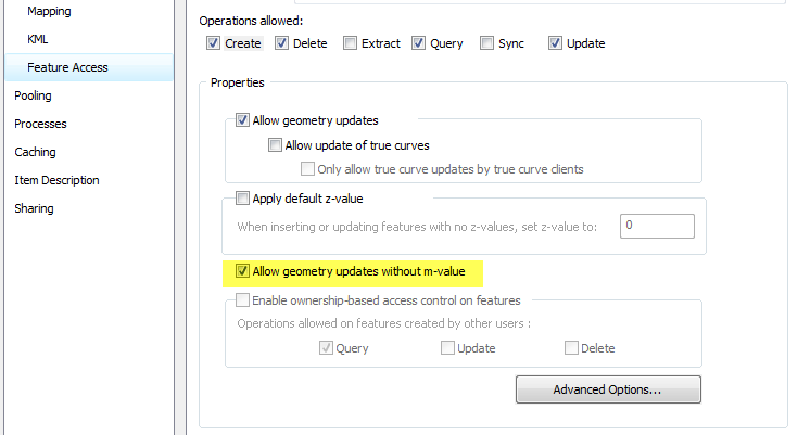 How To: Edit feature services from ArcGIS Server 10 5 x that have m